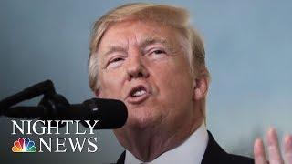 President Donald Trump Says Roy Moore Must Be Elected In Alabama   NBC Nightly News