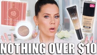 NOTHING OVER $10 DOLLARS... GET READY WITH ME