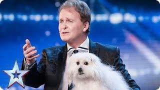 Marc Métral and his talking dog Wendy wow the judges | Audition Week 1 | Britain