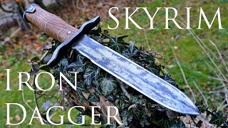 Dagger Making - Skyrim: Forging a Real Iron Dagger (Made of Steel)