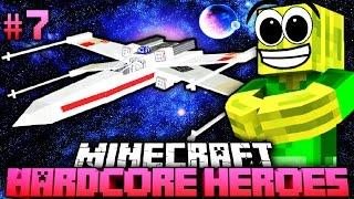 Ein GALAKTISCHES RAUMSCHIFF?! - Minecraft Hardcore Heroes 4 - #07 [Deutsch/HD]
