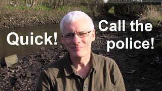 MUDLARKING & METAL DETECTING: At the river day and night, but why the police are on their way?