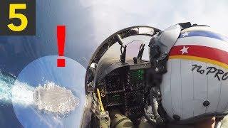Top 5 Amazing Aircraft Carrier Landings