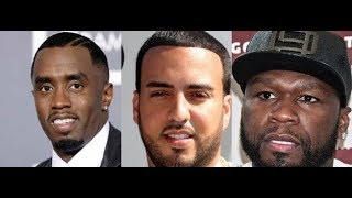 Diddy and French Montana take their BROMANCE to another Level Singing to Each other, 50 Cent react