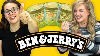Irish People Taste Test Ben & Jerry