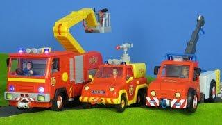 FEUERWEHRMANN SAM deutsch: Neue FEUERWEHRAUTOS für Sam´s beste Rettungsaktionen | Feuerwehrmann Sam