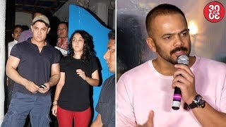 Daughter Ira Is Upset With Aamir's Smoking Habit | Rohit Shetty On 'Dilwale's Average Performance