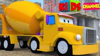 Construction vehicle | 3D video | Cars | vehicles for children | Video  for kids by Kids Channel