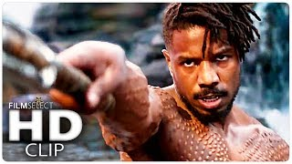 BLACK PANTHER: All Clips + Trailers (2018)