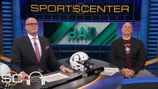 Bad Beats feature Northwestern men's basketball and Maine football   SC with SVP