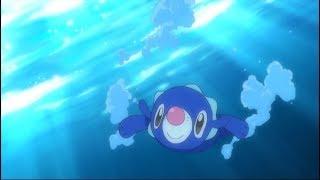 Pikachu Faces Popplio in a Pokémon Aquathlon!