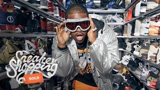 ASAP Ferg Goes Sneaker Shopping With Complex
