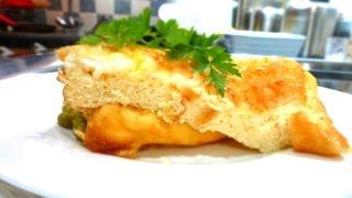 Russian Omelette, Baked Cafeteria Egg Omelette (Recipe From Soviet Union Era)