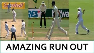 Amazing Run Out || india vs south africa 2nd test 2018 || virat kohli 100