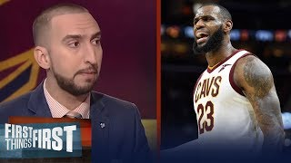 LeBron James or Michael Jordan: Nick and Cris discuss who is the real GOAT | FIRST THINGS FIRST
