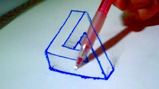 4D Drawing - Amazing Illusion 3d pen