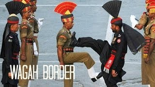 Pakistan: Wagah Border Ceremony واگها वाघा