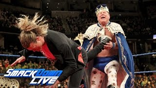 """Jerry """"The King"""" Lawler gets crowned by Ziggler on """"King"""