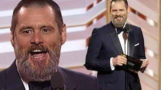 Jim Carrey ai Golden Globe 2016 [SUB ITA]