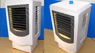 How to Make Air Cooler at Home  ( Low Cost)
