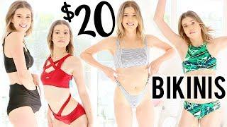 TRYING ON 20 BIKINIS UNDER $20   Meghan Rienks