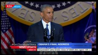 Barack Obama in tears as he thanks Michelle Obama for standing with him through his presidency