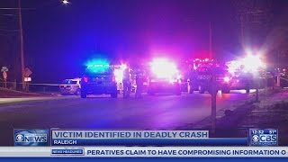 Man killed, woman seriously injured in Raleigh head-on collision
