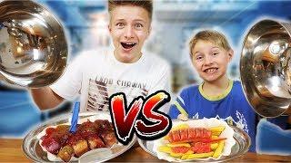 Täuschend Echt! REAL FOOD vs. MARZIPAN FOOD! TipTapTube