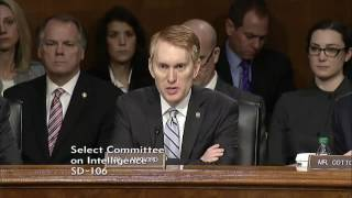 Senator Lankford Questions Mike Pompeo at his Confirmation Hearing Before the Intelligence Committee
