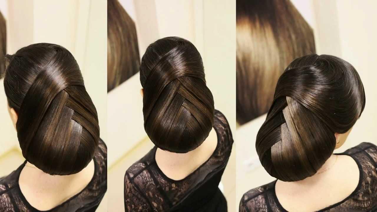 Вечерние причёски на длинные волосы мастер класс