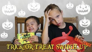 TRICK OR TREAT SWITCH UP CHALLENGE!!!