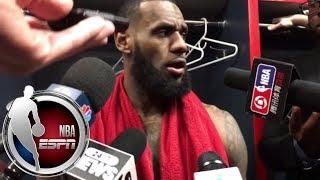 LeBron James explains his
