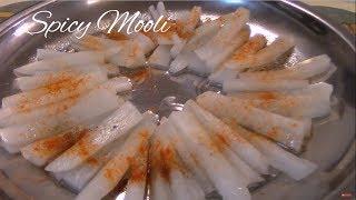 Spicy Mooli - Pakistani/Indian Cooking with Atiya