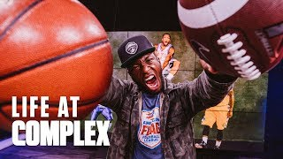 NATE ROBINSON GOING BEAST MODE THIS SUMMER!   #LIFEATCOMPLEX