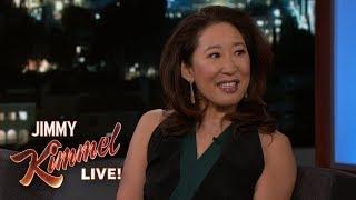 Sandra Oh on Meeting Justin Trudeau
