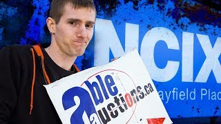 NCIX Bankruptcy Auction - Day 1