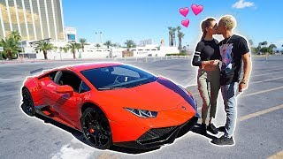 Meine Freundin schenkt mir ein $300,000 Lamborghini **Unfassbares Geschenk**