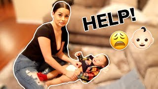I WAS A MOM FOR A DAY! 😱