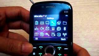 Quad SIM Cell Phone, 4 SIM 4 Standby WIFI TV Mobile Phone Babiken K66