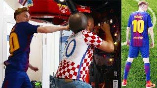 BOXAUTOMAT CHALLENGE + Fußball-Shopping | ViscaBarca