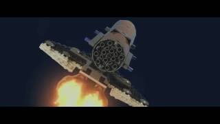 Lego Movie Shuttle Animation