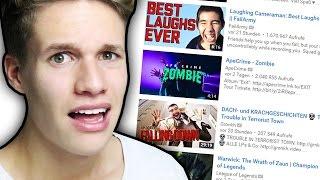 Ich reagiere auf YouTube TRENDS
