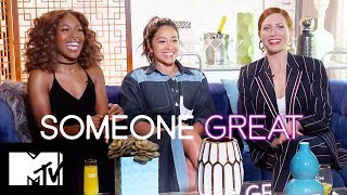 The Someone Great Cast Play Our Real Or Fake Cocktail Game | MTV Movies