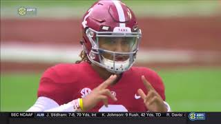 Alabama vs Mercer, 2017 (in under 27 minutes)