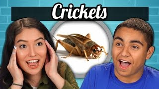 TEENS vs. FOOD - CRICKETS