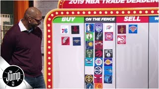 2019 NBA trade deadline big board: Who should be buyers or sellers?   The Jump