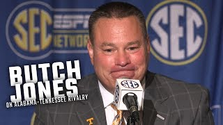 Butch Jones talks about Alabama
