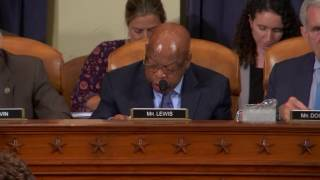 Rep. John Lewis Opposes Health Budget Cuts