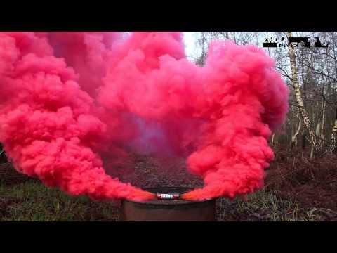Как сделать цветную дымовую