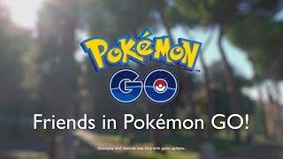 Pokémon GO - Making Friends